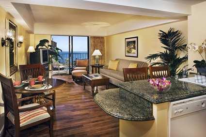 Hilton Grand Waikikian Lagoon Living Room Paradise