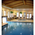 indoor outdoor pool in lake tahoe