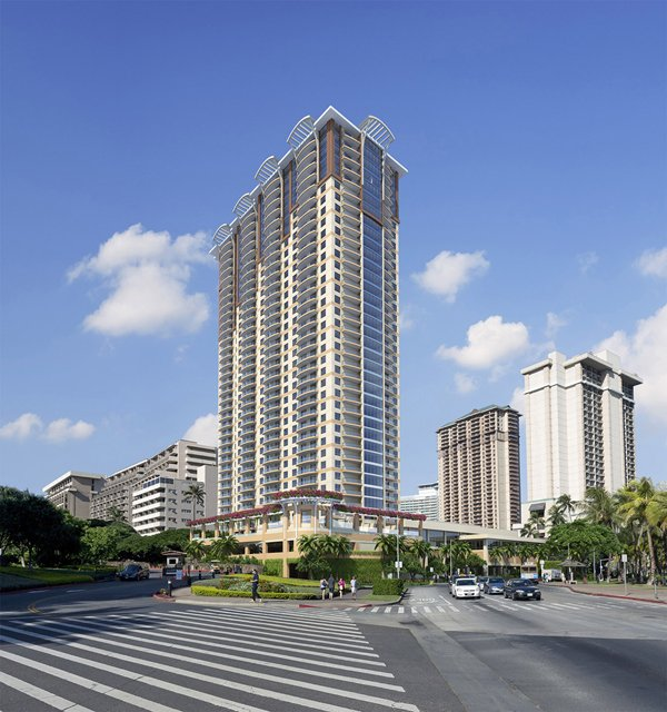 The New Hilton Grand Islander Tower At Hilton Hawaiian